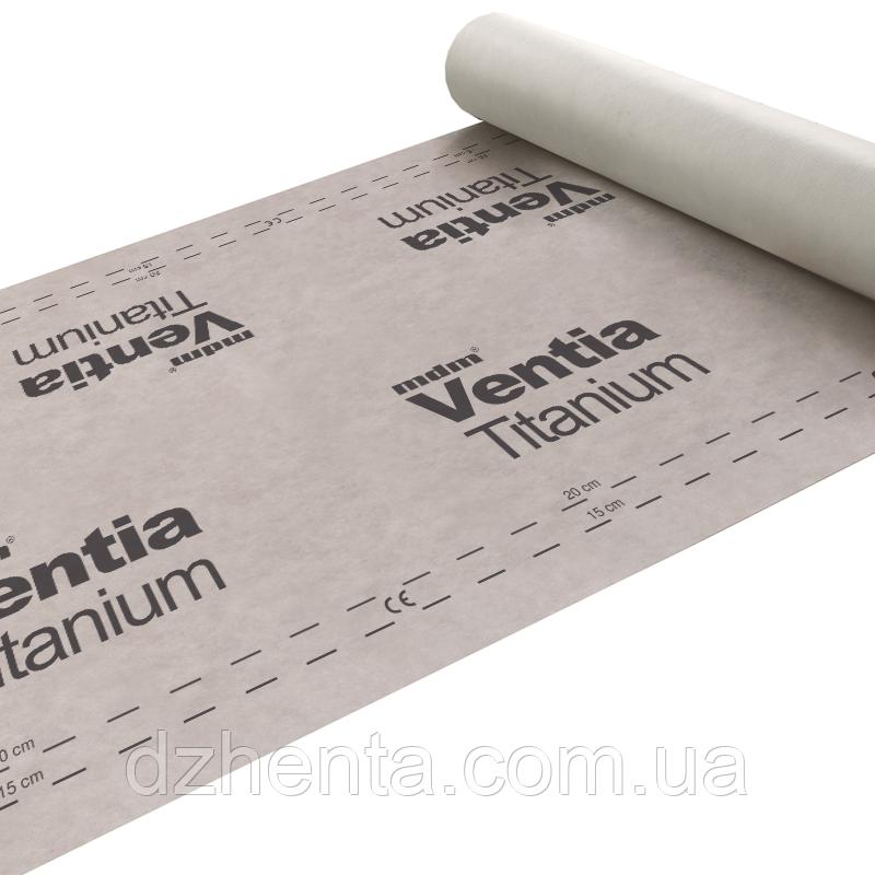 Кровельная гидроизоляционная мембрана MDM Ventia Titanium