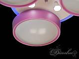 Дитяча люстра з рожевими плафонами B001PK dimmer, фото 8