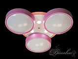 Дитяча люстра з рожевими плафонами B001PK dimmer, фото 9