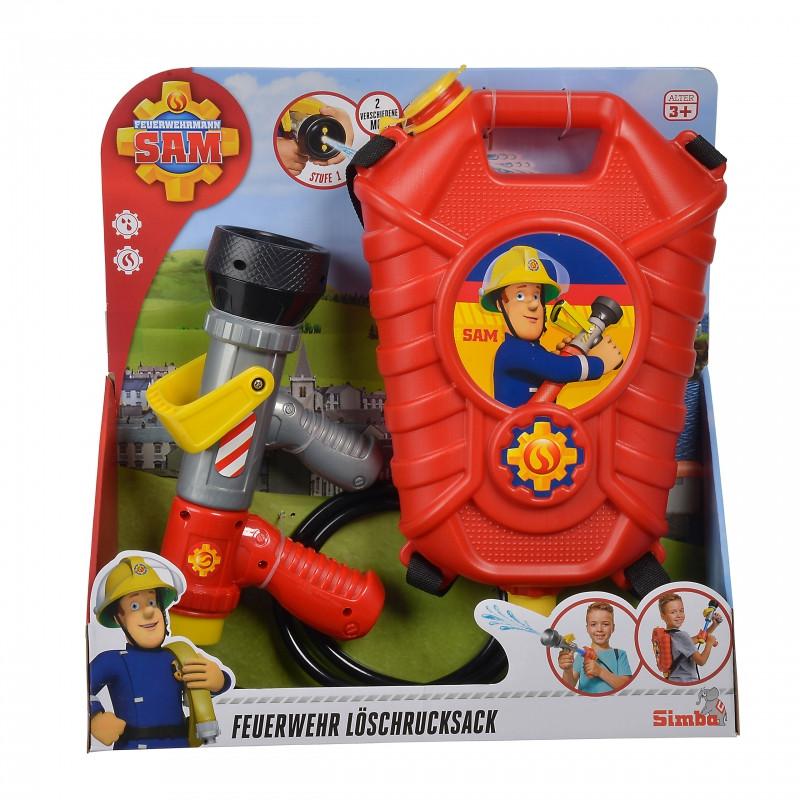 Набір пожежника з водним бластером Simba 9252293