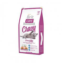 Brit Care Cat  Crazy I am Kitten (для котят 1 - 12 месяцев) 7 кг