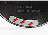 Хром-накладки на лючок бензобака Kia Rio 4D 2005-2010, фото 2