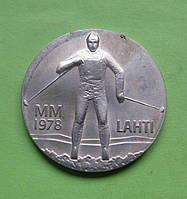 Финляндия 25 марок 1978 г. Зимние игры в Лахти .UNC.