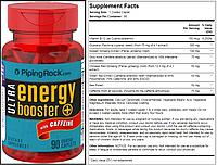 Piping Rock, Активирующий комплекс Energy Booster, 700 мг, 90 таблеток