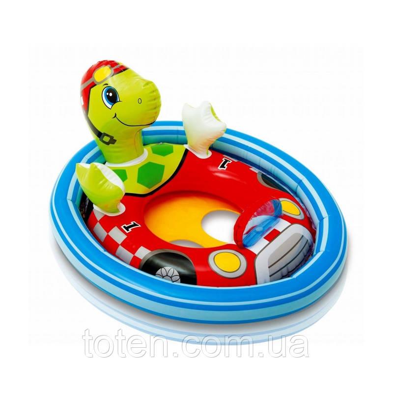 Пліт надувний дитячий Пліт-райдер 59570 Intex розміром 71х76х58 см .Черепашка