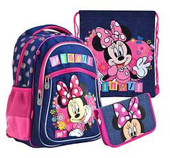 Наборы в школу: ортопедический рюкзак+сумка для сменной обуви+ рюкзак