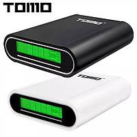"""Power bank """"TOMO"""" / портативна, мобільна зарядка акумуляторів 18650"""