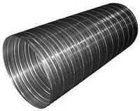 Воздуховод гофрированный алюминиевый D125mm (L=3m)