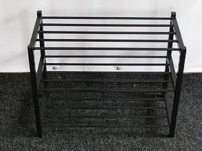 Полка металлическая для обуви J3-100 (обувница, подставка для обуви), фото 2