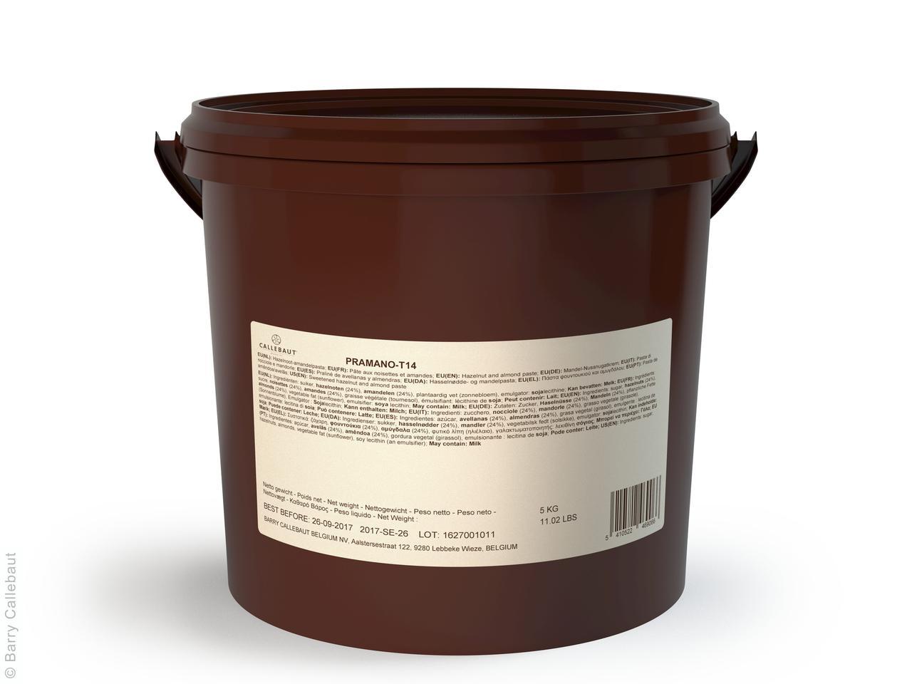 Миндальное-Фундучное пралине 5 кг, Callebaut