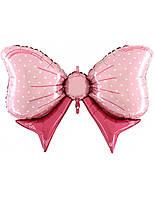 Фольгированный шар Бант розовый, 60*88 см
