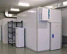 Холодильні камери з сендвіч панелей