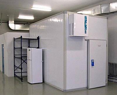 Холодильные камеры из сендвич панелей