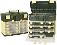 Ящик для рыбалки большой Fishing Box Organizer К2 1075, 52*32*43