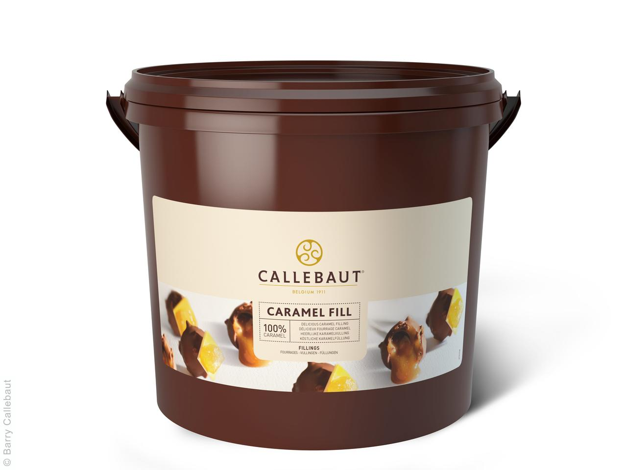 Карамельная начинка, Callebaut