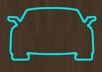 Вырубка кондитерская для пряника молния машина
