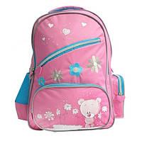 Школьный рюкзак Bear розовый OLLI  (OL-1514-1)