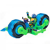 Транспорт серии Эволюция Черепашек Ниндзя Мотоцикл байк Леонардо
