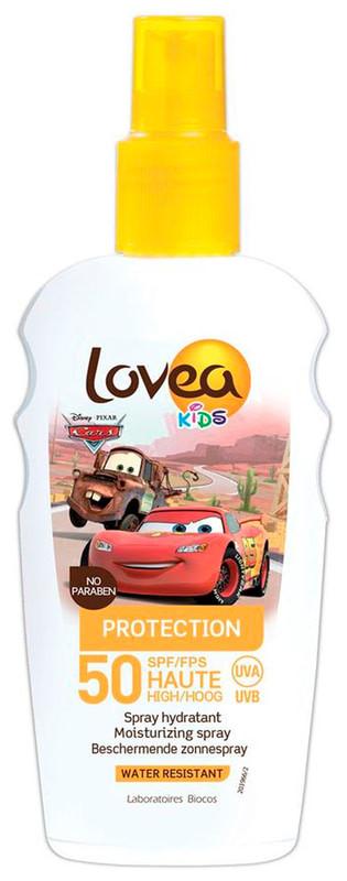 Солнцезащитный спрей для детей Lovea Kids Protection SPF 50, 200 мл