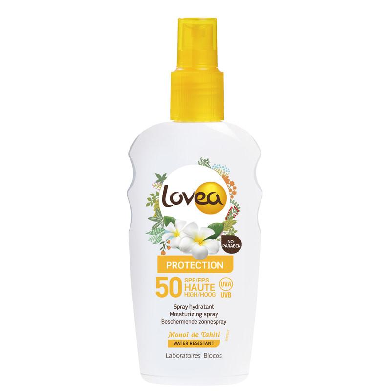 Сонцезахисний спрей Lovea Sunscreen Spray SPF 50, 200 мл