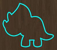 Вырубка кондитерская для пряника мастики марципана динозавр дино
