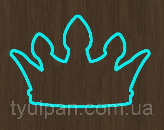 Вырубка кондитерская для пряника мастики марципана корона