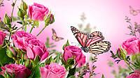 """Вафельная картинка """"Цветы"""" 25"""