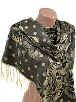 Кашемировый женский палантин. Женский шарф. Женский платок. На подарок.  ПШ02