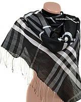 Модный кашемировый палантин. Женский шарф. Женский платок из кашемира.  ПШ03