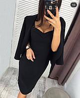 Костюм женский платье+пиджак, фото 1