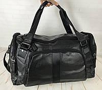 Мужская дорожная сумка. Сумка для поездок. Черная КСД5-1, фото 1