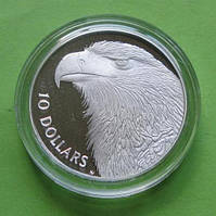 Австралия 10 долларов 1994 г. Фауна - орел.