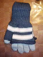 Двойные рукавички для девочки, TM Margot Bis, Польша