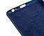 Силиконовый чехол Silicone Cover с микрофиброй для Samsung А605 Galaxy А6, фото 5