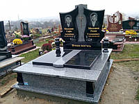 Памятник гранитный двойной 2