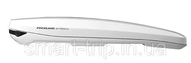 Бокс на крышу авто Packline NX Premium (430 л) white P0819011