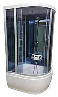 Душевой бокс Atlantis AKL1315(GR)L 130х85 левый, глубокий поддон, тонированное стекло