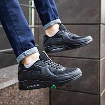 Кросівки чоловічі Nike Air Max сітка репліка №1980/2, фото 2