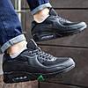 45,46р Кросівки чоловічі Nike Air Max сітка репліка №1980/2, фото 3