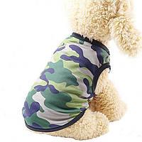 Майка-сеточка для собак «Камуфляж»