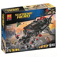 """Конструктор Bela 10846 (Аналог Lego Super Heroes 76087) """"Нападение с воздуха"""" 1044 детали, фото 1"""