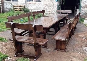 Деревянная мебель для заказчика в Киевской области