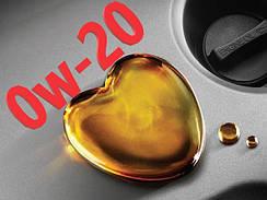 Моторное масло 0w20