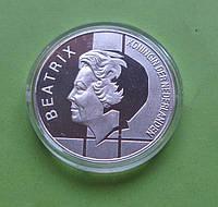 Нидерланды 10 гульденов 1994 г. 50 лет БеНиЛюкса