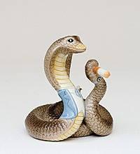 Статуэтка  Змея- Босс (8см) из фарфора в подарочной коробке