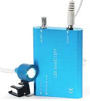 LED подсветка для бинокуляров CICADA (Blue) с аккумулятором