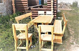 Деревянная мебель для заказчика в Ирпене. Сделана в натуральном цвете глянцевое покрытие