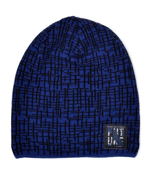зимняя шапка подросток штрих