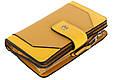 Кошелек кожаный Piquadro pd1353musr g,  женский, желтый, фото 2