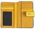 Кошелек кожаный Piquadro pd1353musr g,  женский, желтый, фото 4